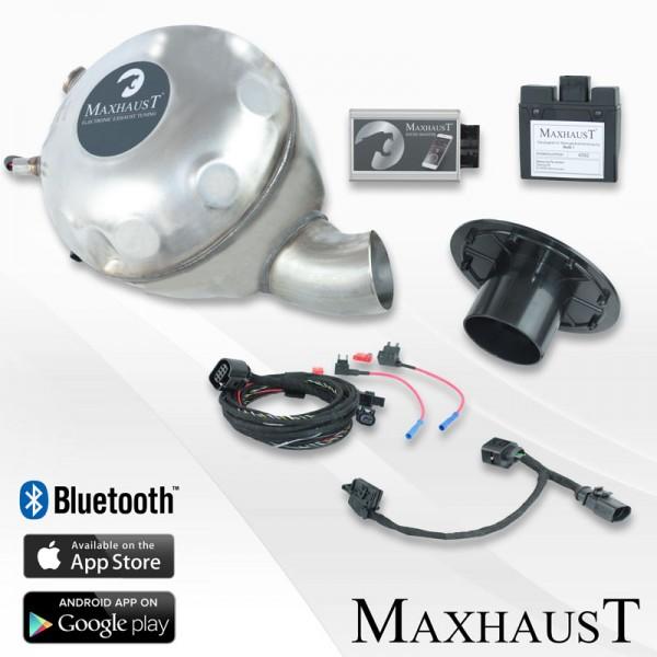 active sound booster maxhaust set complet esm audi. Black Bedroom Furniture Sets. Home Design Ideas