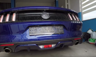 Ford Mustang GT 5.0 V8 Milltek Exhaust Cat-back Dual Outlet Non Res (Louder)
