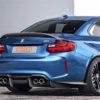Difuzor bara spate BMW M2 F87 din fibra carbon -Stage 2 – PSM Dynamic